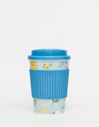 Cath Kidston Meadow Print Travel Cup Blue