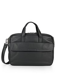 Marc By Marc Jacobs Robbie Leather Briefcase Black
