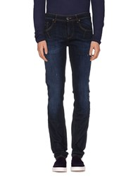 Les Hommes Denim Denim Trousers Men Blue