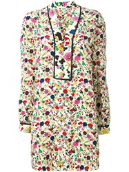 Kenzo 'Tanami' Shirt Dress Multicolour
