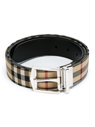 Burberry London 'James' Belt Black