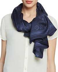 Tory Burch The Traveler Scarf Tory Navy