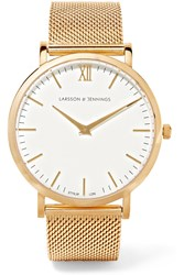 Larsson And Jennings Cm Gold Plated Watch