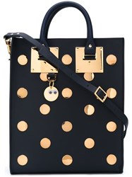Sophie Hulme Studded Tote Bag Black