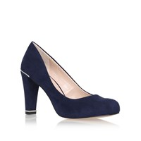 Carvela Advice High Heel Court Shoes Navy