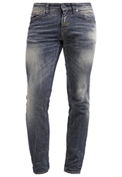Meltin Pot Maner Slim Fit Jeans Stone Blue
