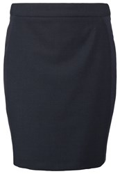 Karen By Simonsen Sydney Pencil Skirt Dark Blue