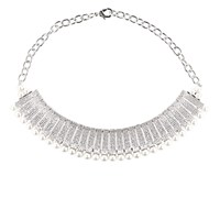 Fallon Women's Madison Pave Necklace No Color