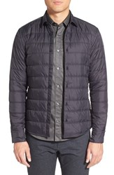 Boss Men's 'Russell' Slim Fit Quilted Jacket Black