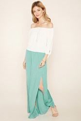 Forever 21 Contemporary Pleated Maxi Skirt