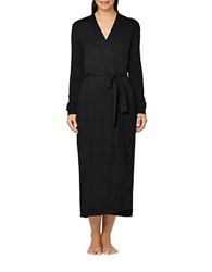 Yummie Tummie Plus Pima Jersey Long Robe Black