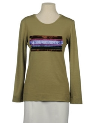 Jofre Long Sleeve Sweaters Military Green