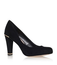 Carvela Kurt Geiger Advice Block Heel Court Shoe Female Black