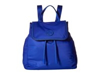 Tory Burch Scout Nylon Small Backpack Jewel Blue Backpack Bags