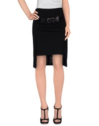 Plein Sud Jeans Plein Sud Skirts Knee Length Skirts Women Black