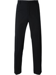 Dolce And Gabbana Tailored Slim Trousers Black