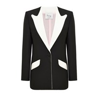 Hebe Studio The Suit Black Boyfriend Blazer