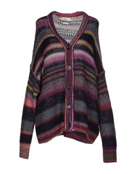 Replay Knitwear Cardigans Women Mauve