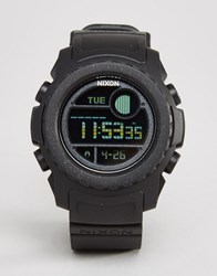 Nixon Super Unit Digital Watch Black