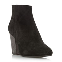 Dune Patina Casual Ankle Boots Black