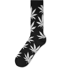 Huf Black Grey Tie Dye Plantlife Socks