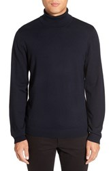 Calibrate Men's Turtleneck Sweater Navy Night