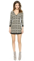 Twelfth St. By Cynthia Vincent Shift Dress With Beaded Trim Fez Brocade