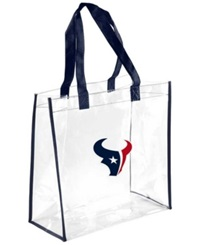 Forever Collectibles Houston Texans Clear Tote Bag