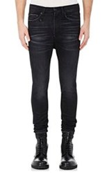 R 13 R13 Men's Drop Skinny Jeans Black