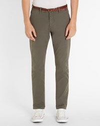 Scotch And Soda Dark Grey Stuart Slim Fit Chinos
