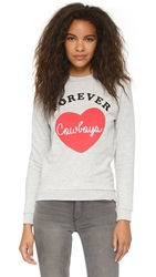 Zoe Karssen Forever Cowboys Pullover Grey Heather