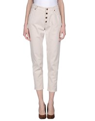 Brunello Cucinelli Denim Denim Trousers Women Beige