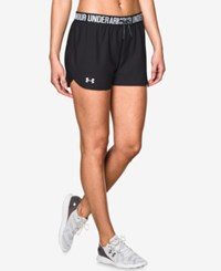 Under Armour Play Up Shorts Black Black