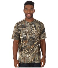 Terramar 2.0 Stalker Short Sleeve Tee Realtree Max 5 Men's Short Sleeve Button Up Yellow