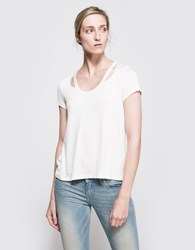 Which We Want Winona Basic Tee Off White