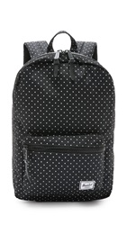 Herschel Settlement Backpack Black Polka Dot