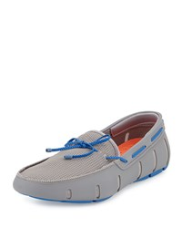 Braided Bow Water Resistant Loafer Gray Swims Grey
