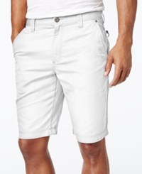 Inc International Concepts Men's Seiden Dobby Shorts Only At Macy's White Pure