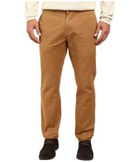 Billy Reid Leonard Chino Dark Tan Men's Casual Pants Brown