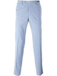 Pt01 Front Pleated Trousers Blue
