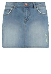 Only Onlclaudi Mini Skirt Medium Blue Denim