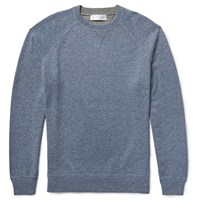 Brunello Cucinelli Double Faced Cashmere Sweater Blue
