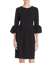 Aqua Bell Sleeve Dress Black