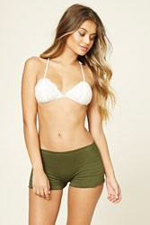 Forever 21 Smocked Seamless Shortie Panty