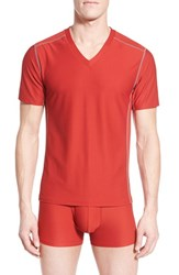 Men's Exofficio 'Give N Go Sport' Mesh V Neck T Shirt Stop