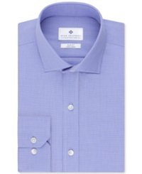 Ryan Seacrest Distinction Non Iron Slim Fit Houndstooth Dress Shirt Clearwater