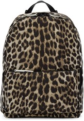 3.1 Phillip Lim Beige Leopard 31 Hour Backpack