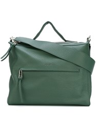 Orciani Large 'Soft' Tote Green