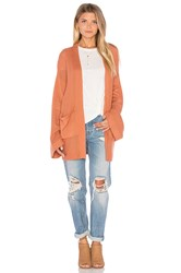 Minkpink Flourish Cardigan Orange