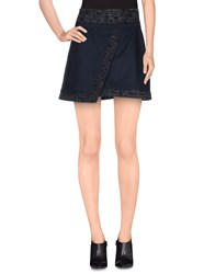 Naf Naf Skirts Mini Skirts Women Dark Blue